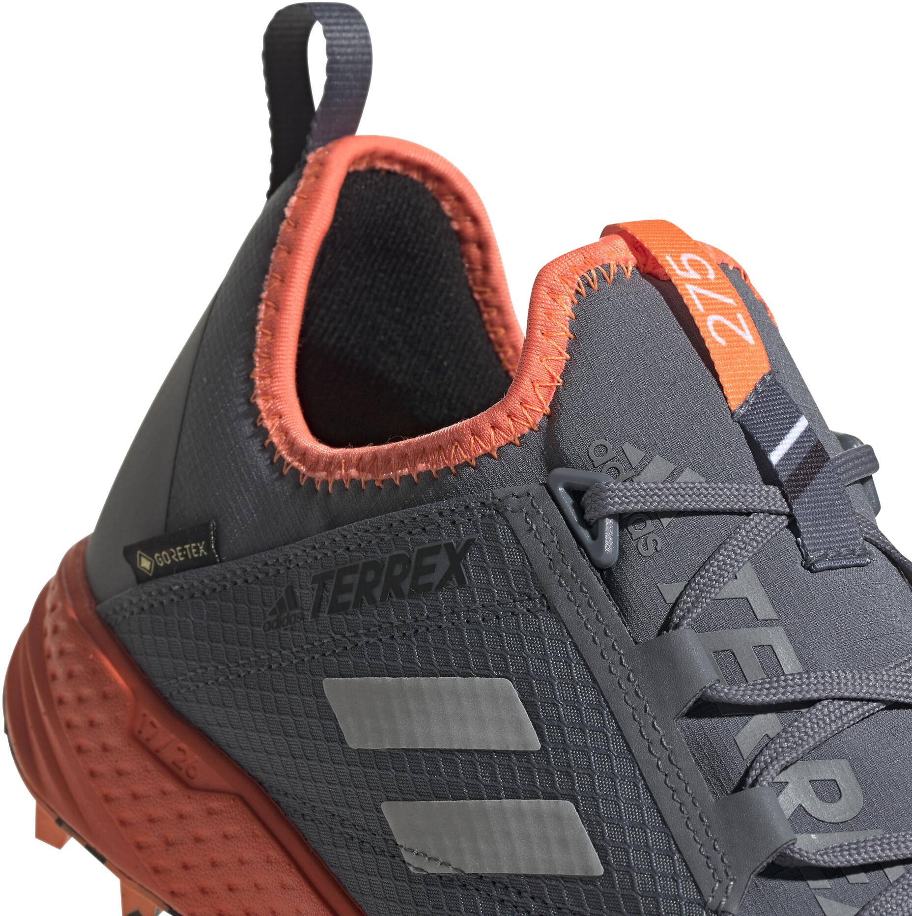 adidas TERREX Agravic Speed GTX Schuhe Herren onixgrey twosolar orange